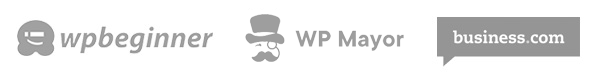 Featured on WPBeginner, WP Mayor, and Business.com