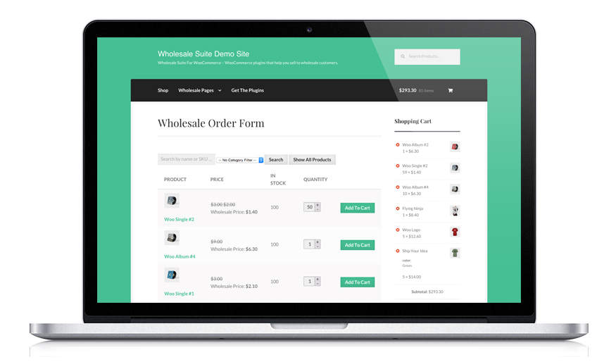 WooCommerce Wholesale Store Plugin
