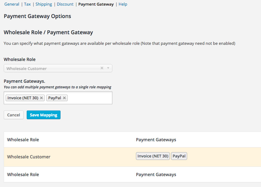 How To Let Wholesale Customers Pay Via Invoice Rather Than Regular - Pay via invoice