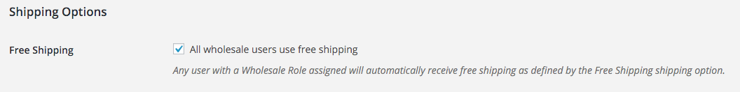 All Wholesale Users Get Free Shipping