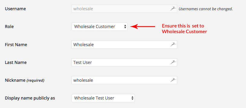 Wholesale Test User