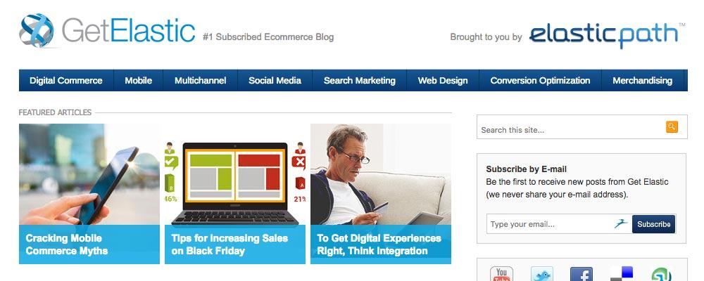 Get Elastic marketing blogs