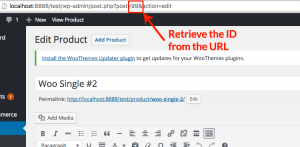 Retrieve Product ID From URL