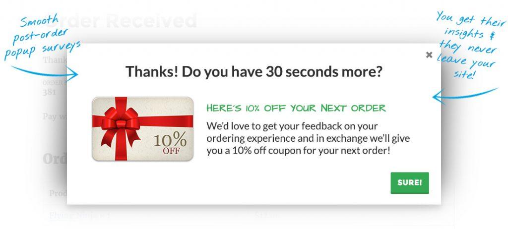 WooCommerce Surveys