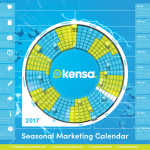 Kensa Creative's marketing calendar
