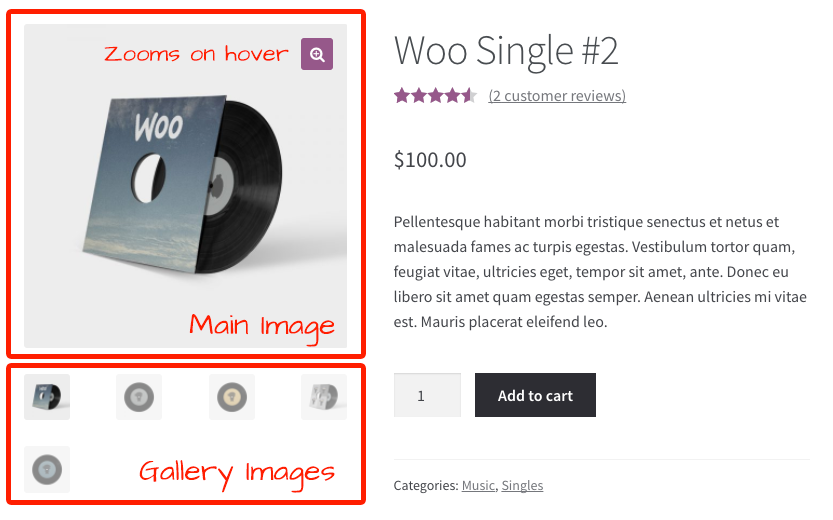 WooCommerce Product Images Gallery