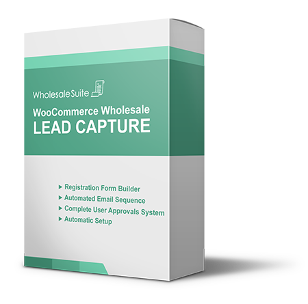 WooCommerce Wholesale Lead Capture