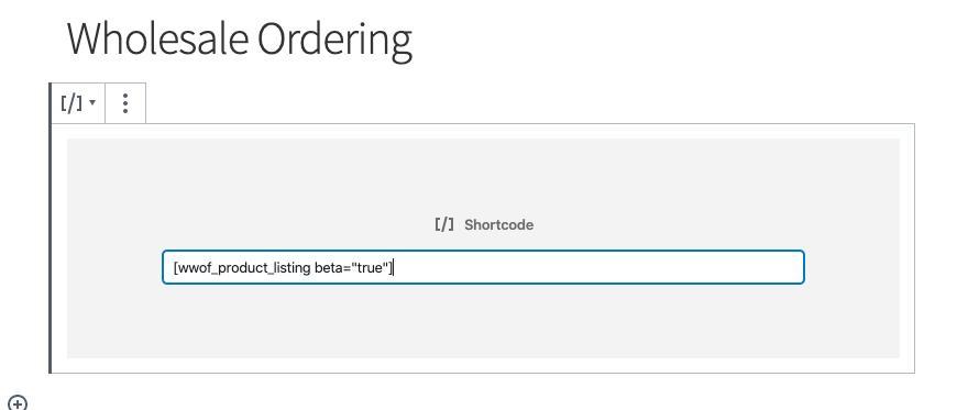 Tweak the shortcode