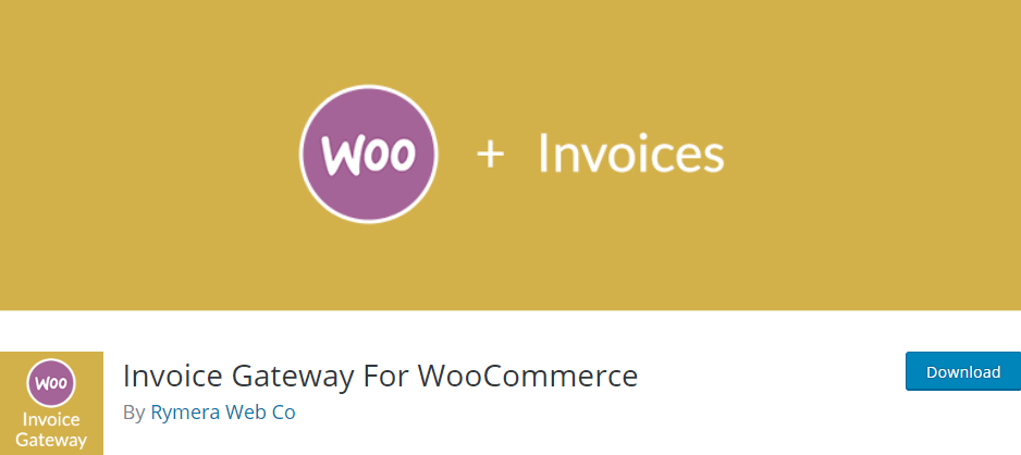 The Invoice Gateway for WooCommerce plugin.