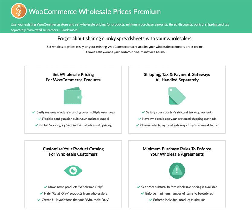 woocoommerce wholesale prices premium