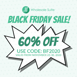 Wholesale Suite Black Friday Offer 2020