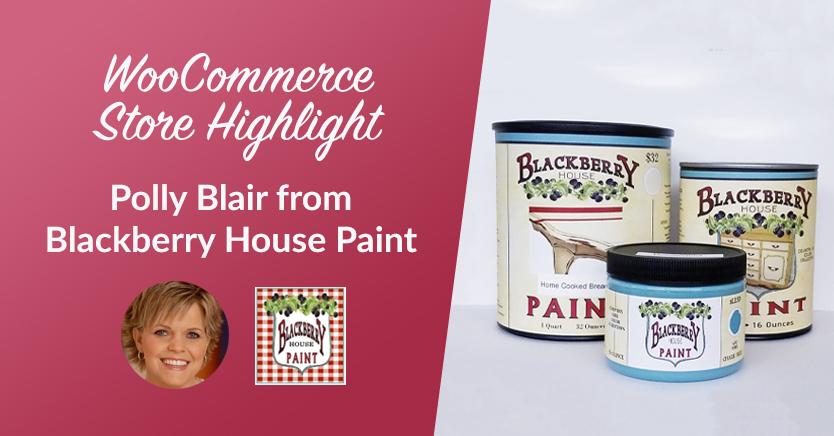 WooCommerce Store Highlight: Polly Blair from Blackberry House Paint