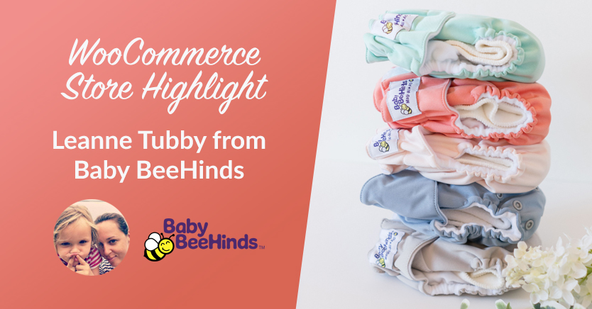 WooCommerce Store Highlight: Leanne Tubby from Baby BeeHinds