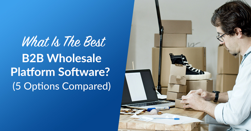 What Is The Best B2B Wholesale Platform Software? (5 Options Compared)