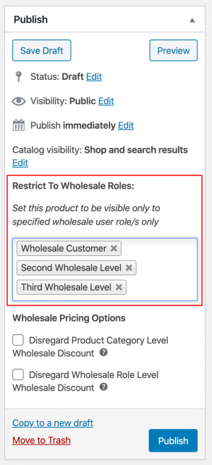 Restrict Product To Wholesale Roles In WooCommerce